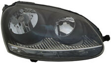 Black clear finish Right side H7 H7 headlight for VW Golf V GTI 03-09 TYC