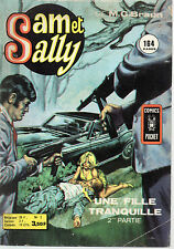 SAM ET SALLY N° 2 UNE FILLE TRANQUILLE 2, COMICS POCKET, BD POUR ADULTES