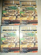 1/144 Takara World Tank Museum Series 06 Leopard Sets of 4 tanks
