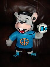 Chuck E Cheese's Chuck E Listening to Music Plush Doll 13""