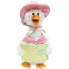 Cuddle Barn Plush Talking Mother Goose Plays 7 Nursery Rhymes - Pink