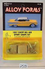 Alloy Forms 1/87 H0 Metal Kit 2008 1957 Chevrolet Bel Air Sport Coupe OVP #2539