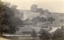Chedworth Church Nr Cirencester Northleach RP old pc  1930 Percy Simms