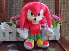 """New Tomy Boom Sonic 25th Anniversary 8"""" Knuckles Plush Doll Toy"""