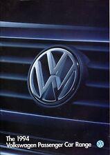 Gama de coche VW 1994 44pg todo color folleto