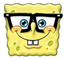 Spongebob Spectacles Official Single Card Party Fun Face Mask -Great for parties