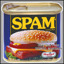 Fridge Fun Refrigerator Magnet SPAM CAN -Version A- Retro Food -DIE-CUT-