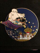 Disney Inspired Baymax BH6 Invasion Jasmine From Aladdin  Fantasy Pin LE 100