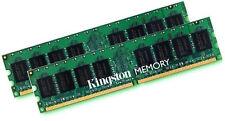 2x 2gb 4gb Kingston memoria RAM ddr2 800 MHz kvr800d2n6/2g pc2-6400 240p
