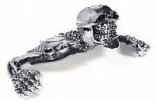 Scheinwerfer 4-5-3/4 für Suzuki Yamaha Totenkopf Skull Skelett Old School