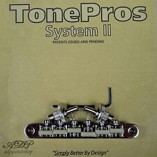 TonePros NVR2G-N CHEVALET Nashville ABR Nylon66saddle Tune-O-Matic Bridge GIBSON
