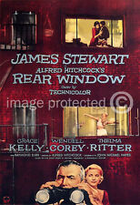 Rear Window Vintage Alfred Hitchcock Movie Poster 18x24