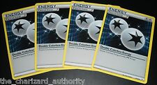 4x Double Colorless Energy 74/83 XY Generations Uncommon Pokemon Cards NEAR MINT