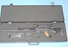 1/6 Scale IN Toyz Sniper Rifle with suit case carrying case with anarchy symbol