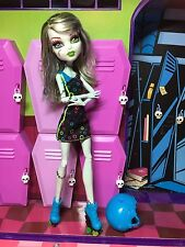 Monster High Doll - Frankie Stein - Skultimate Roller Maze - Great Condition