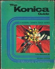 The Konica Guide AutoReflex T4 TC FS1 & Hexar Lens More Instruction Books Listed