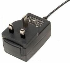 MAINS ADAPTOR 12v @ 1000mA - 2.1mm STRAIGHT PLUG - WORKING - NEW - B