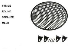 single 15 inch Speaker Grill. round holes   ( UK MADE )