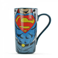 Superman Latte Ceramic Mug - Blue Superman design, Super strength.  Mug, 400ml