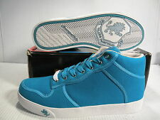 VLADO SPECTRO MID SNEAKERS MEN SHOES BLUE/TURQUOISE 1G-1060-9 SIZE 11 NEW