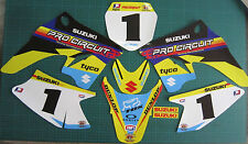 drz70 adesivi grafici decalcomanie drz 70 mini moto suzuki drz 70 motocross mx