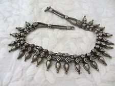 Vintage Beautifully Crafted Necklace Rajasthani Silver From India 3.1oz (88g)