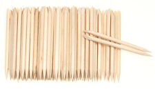 Lots 100PCS Orange Wood Stick Cuticle Pusher Remover Pedicure Manicure Tool W87