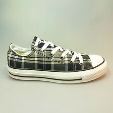 CONVERSE All Star Chucks Ox Plaid black 110747 schwarz kariert Sneakers Gr. 36,5