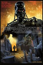The terminator alternative movie poster par mondo artistes stan & vince no./325