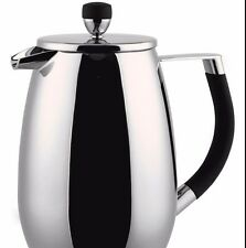 Grandeur 6 Cup Double Wall Deluxe Coffee Maker Cafetiere Plunger Grunwerg GPC06