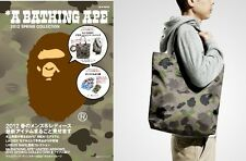 Brand New A Bathing Ape Bape Camo Waterproof  Shin Tote Shopping bag