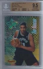 1997-98 Tim Duncan Bowman's Best Picks Refractor RC... BGS 9.5 Gem Mint w/10 sub