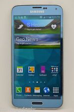 Samsung Galaxy S5 SM-G900A 16GB Blue UNLOCKED GSM TMOBILE AT&T METRO PCS CRICKET