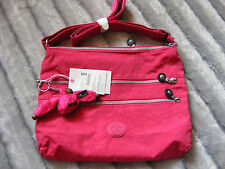 New Ladies Womens Girls Kipling Alvar Strawberry Ice Shoulder Bag Handbag RRP£55