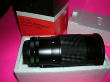 CANON C/FD MOUNT VIVITAR 200/3.5 MC LENS BOXED LOOKS UNUSED PERFECT GLASS MINT