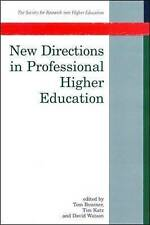 New Directions In Professional Higher Education (Co-Published With the Society)