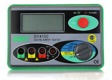 Update DY4100 Digital Earth Ground Resistance Tester Meter 2000Ω 0.01