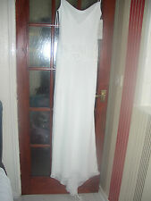 new victoria jane wedding dress size 12 ivory / pearl with shawl