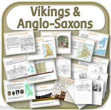 KS2 history VIKING & ANGLO-SAXON STRUGGLE FOR ENGLAND teaching resources CD