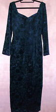 Exquisite JOHN CHARLES vintage ball gown long dress 12