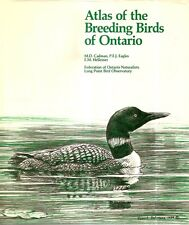 CADMAN, M.D., et al - ATLAS OF THE BREEDING BIRDS OF ONTARIO