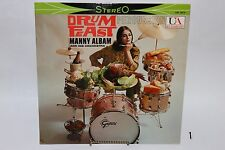 Manny Album and his Orchestra Drum Feast Percussion LP United Artist 1959 Cool