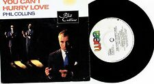 """PHIL COLLINS - YOU CAN'T HURRY LOVE - 7"""" 45 VINYL RECORD w PICT SLV - 1982"""