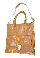 New Cool Retro Style Women Large Shoulder Handbag Tote Hobo PU Leather Bags