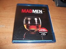 Mad Men: Season Three 3 (Blu-ray Disc, 2010, 3-Disc Set) Drama TV Show NEW