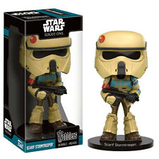 Star Wars Rogue One Scarif Stormtrooper Wacky Wobbler Bobble Head Figure FUNKO