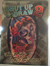 Shut Up and Draw 2 Tattoo Art Instructional DVD Tony Ciavarro Tattooer 2014 body