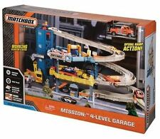 NEW Matchbox 4-Level Garage Play Set New In Box Hard To Find In Stores