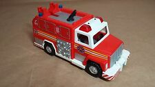 FIRE ENGINE Playmobil City Service Set 5843 Replacement Rescue Truck w SIREN!