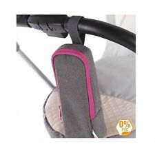Diago Insulated Bottle Bag Holder for Pushchair Pouch Warm & Cool Grey BNWT